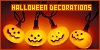 Halloween decorations & displays